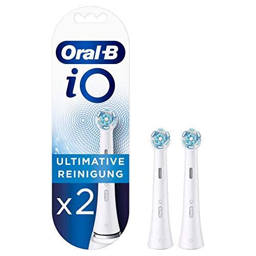 Oral-B iO Ultimative Reinigung Aufsteckbürsten für ein sensationelles Mundgefühl, 2 Stück