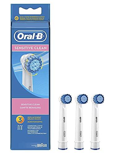 Oral-B - Sensitive Clean Ersatzbürsten 3er Set - Zufallsmodell