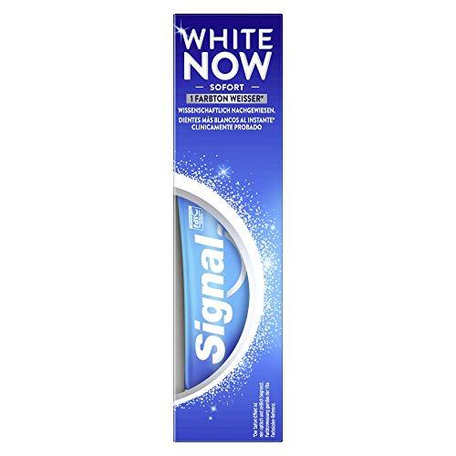 Signal Zahnpasta White Now (mit Blue Light Technology), 1 Stück (1 x 75 ml)